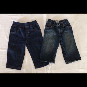 Toddler/Infant 9-12 Months set of jeans